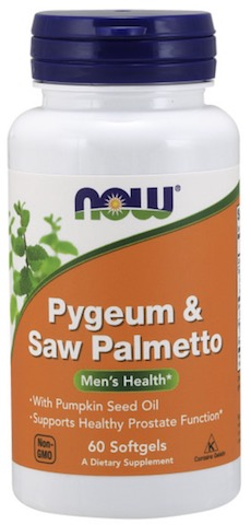 Image of Pygeum & Saw Palmetto 25/80 mg with Pumpkin Seed Oil