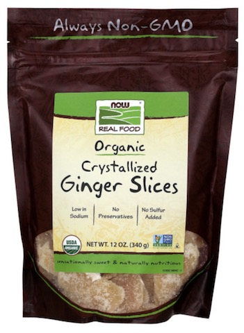 Image of Dried Fruit Ginger Slices Crystallized Organic