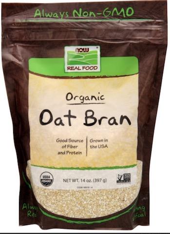 Image of Grains Oat Bran Powder Organic