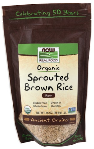 Image of Grains Brown Rice Sprouted Organic