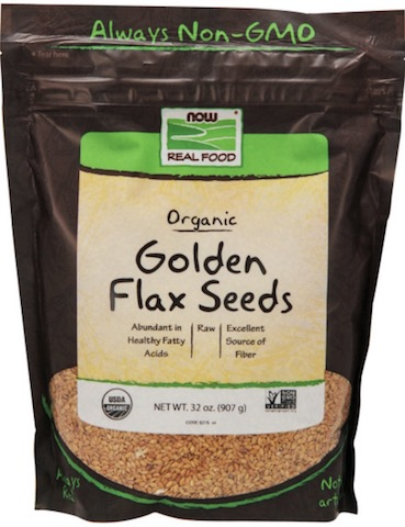Image of Grains Flax Seeds Golden Organic