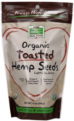 Image of Nuts & Grains Hemp Seed Toasted Organic