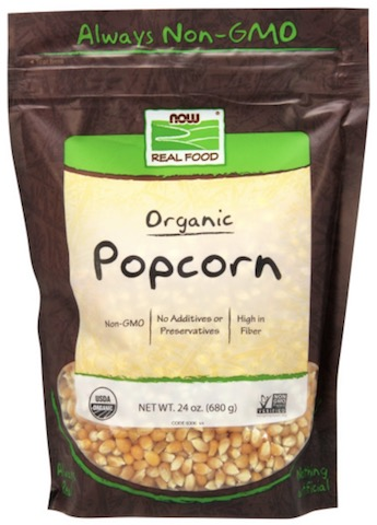 Image of Nuts & Seeds Popcorn Organic
