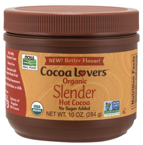 Image of Cocoa Lovers Hot Cocoa Slender No Sugar Added Organic