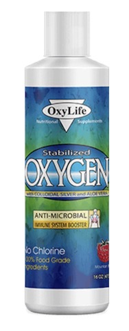 Image of Stabilized Oxygen with Colloidal Silver Mountain Berry