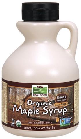 Image of Maple Syrup Grade A Dark Color Organic