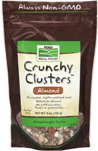 Image of Natural Snacks Crunchy Clusters Almond