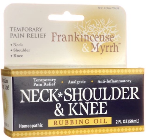 Image of Neck Shoulder & Knee Rubbing Oil