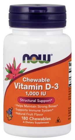 Image of Vitamin D3 1000 IU Chewable Fruit
