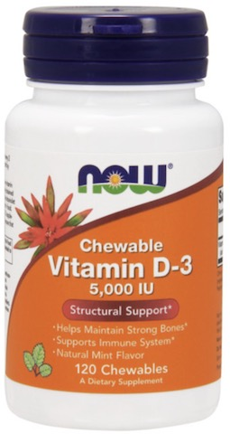 Image of Vitamin D3 5000 IU Chewable Mint