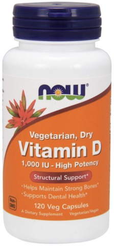 Image of Vitamin D2 1000 IU Dry