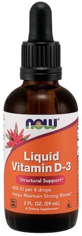 Image of Vitamin D3 Liquid 400 IU