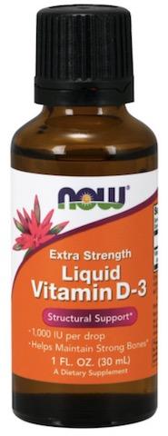 Image of Vitamin D3 Liquid 1000 IU Extra Strength