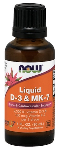 Image of Vitamin D3 & MK-7 2500 IU/100 mg