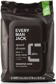 Image of Speed Shower - Face + Body Wipes