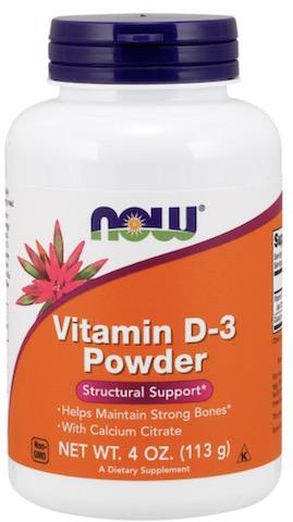 Image of Vitamin D-3 Powder (2,000 IU per 1/4 Level Teaspoon)