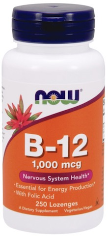 Image of B12 1000 mcg with Folic Acid Chewable