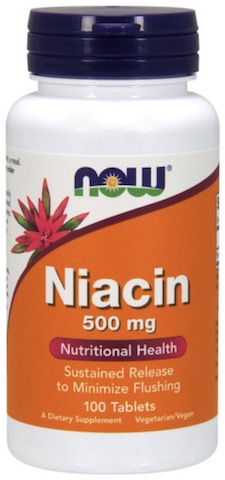 Image of Niacin 500 mg Sustained Release Tablet