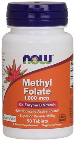 Image of Methyl Folate 1000 mcg