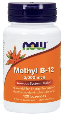 Image of Methyl B12 5000 mcg Chewable