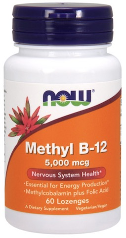 Image of Methyl B12 5000 mcg Chewable