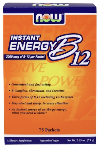 Image of Instant Energy B12 2000 mcg Packet