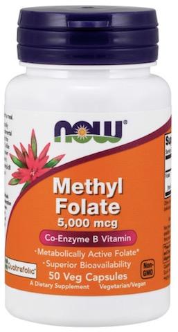 Image of Methyl Folate 5000 mcg