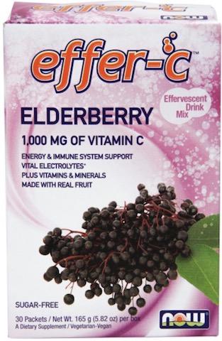 Image of Effer-C Elderberry Packet Powder