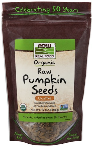 Image of Nuts & Seeds Pumpkin Seeds Raw Unsalted Organic