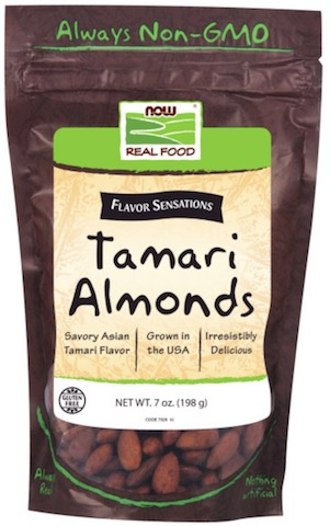 Image of Nuts & Seeds Almonds Tamari Flavored