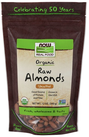 Image of Nuts & Seeds Almonds Raw Unsalted Organic