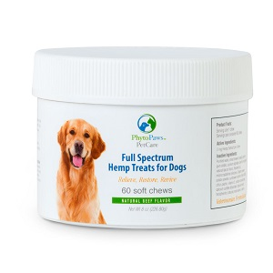 Image of Full Spectrum Hemp Treats For Dogs - Natural Beef Flavor