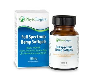Image of Full Spectrum Hemp Softgels - 10 mg