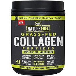 Image of Nature Fuel Grass Fed Collagen Peptides