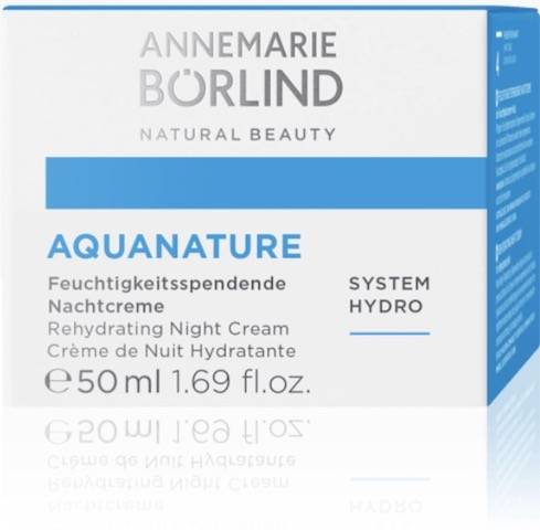 Image of AQUANATURE Rehydrating Night Cream