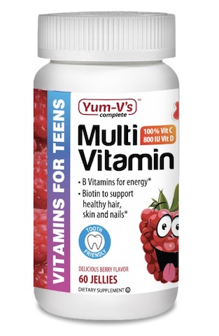 Image of Multivitamins for Teens Gummies Berry