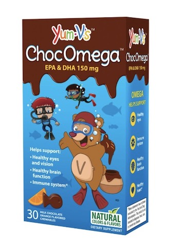 Image of Kids ChocOmega EPA DHA 150 mg Gummy Chocolate
