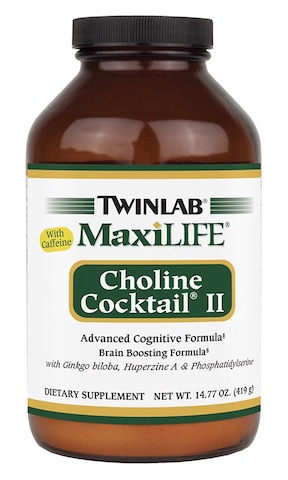 Image of MaxiLIFE Choline Cocktail II with Caffeine Powder