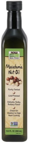 Image of Cooking Oil Macadamia Nut Oil (Plastic Bottle)