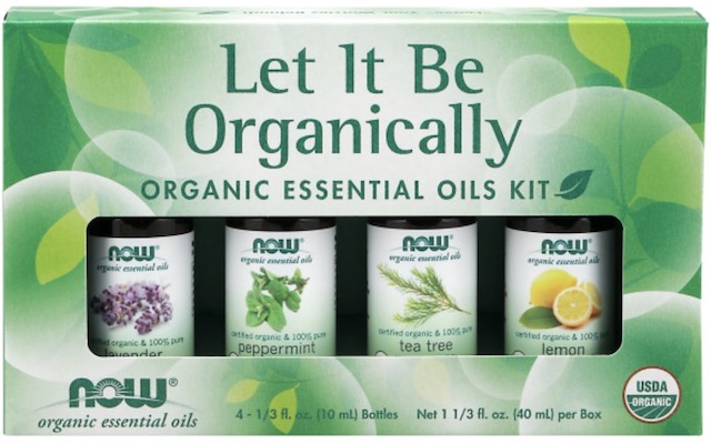 Image of Essential Oil Kit Organic Let it Be Organically