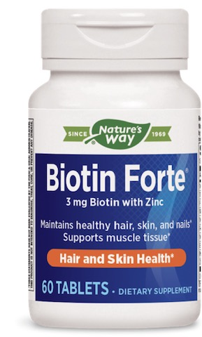 Image of Biotin Forte 3 mg with Zinc (formerly Vitaline)