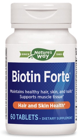 Image of Biotin Forte 5 mg (formerly Vitaline)