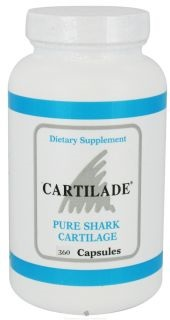 Image of Cartilade Shark Cartilage Capsules 740 mg