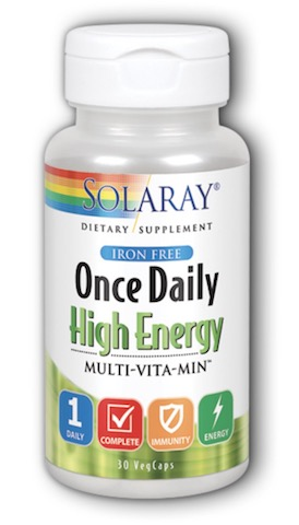 Image of Once Daily High Energy Multivitamin Iron Free