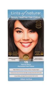 Image of Permanent Colour 1N Natural Black