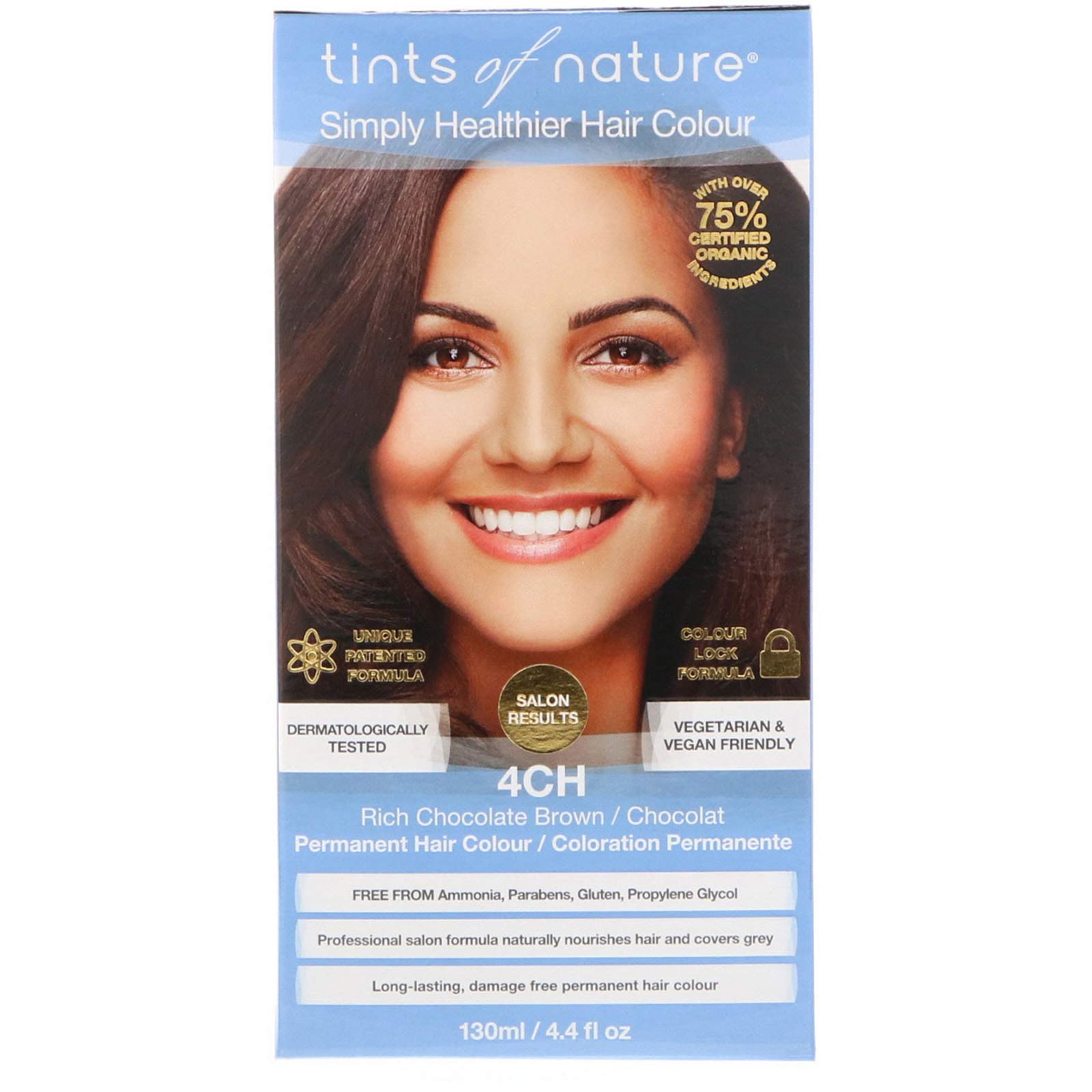 Image of Permanent Colour 4CH Rich Chocolate Brown