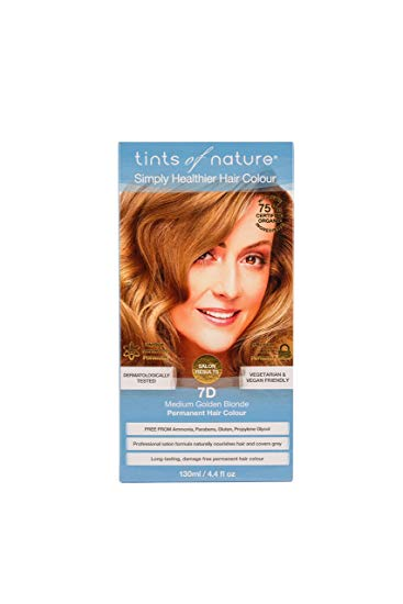 Image of Permanent Colour 7D Medium Golden Blonde