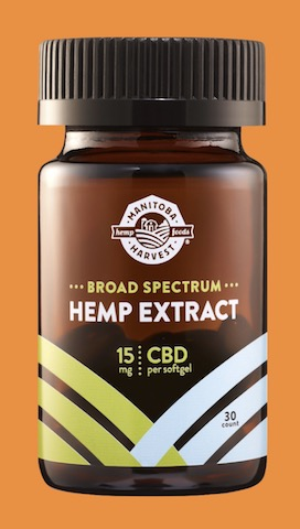Image of Broad Spectrum Hemp Extract 15 mg Softgel