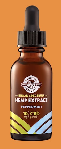 Image of Broad Spectrum Hemp Extract 10 mg Drops Peppermint