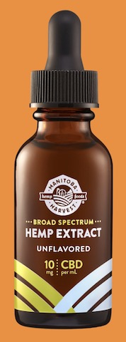 Image of Broad Spectrum Hemp Extract 10 mg Drops Unflavored